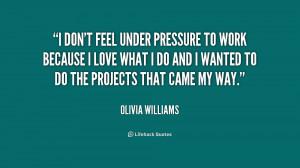 Feeling Under Pressure Quotes