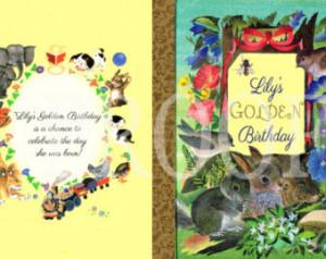 Little Golden Birthday Invitation P rintable ...