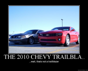 Mustangs are big?