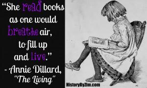 Annie Dillard Quote