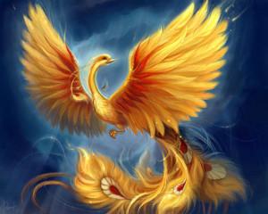 Monday Mythical Creatures - Phoenix
