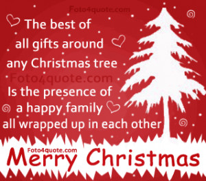 Christmas Card Quotes Family