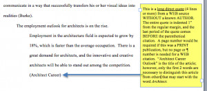 indentation for long quotes in essay