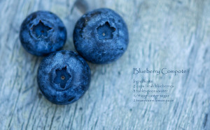 Blueberry compote wallpapers and images