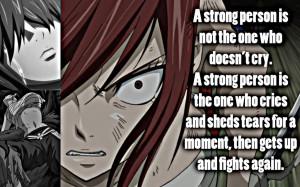 Erza, A Strong Person by Xela-scarlet
