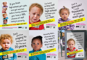 NYC Teen Pregnancy Prevention Ads Spark Controversy - Adpressive.com ...