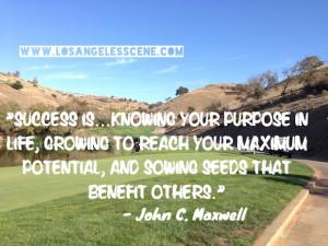 Inspirational Quote John C. Maxwell