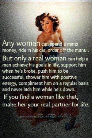 What defines a woman