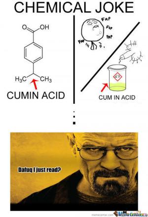 Chemical Reaction Joke [rmx] chemical joke