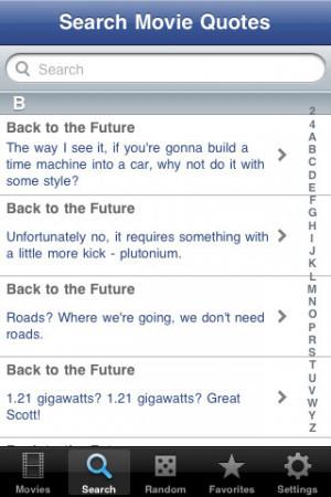 Download 1500 Movie Quotes for Facebook iPhone iPad iOS