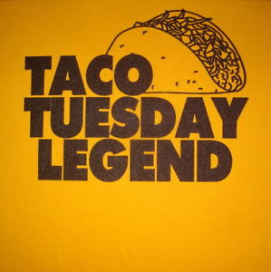 Taco Tuesday Funny Mexican Food Vintage Graphic Shirt Ebay