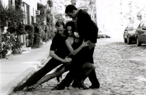 Black And White Tango Dancers