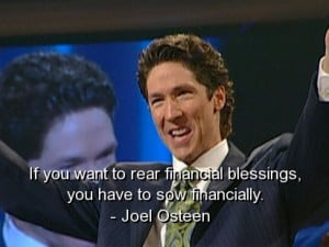 Joel osteen best quotes sayings financial meaningful