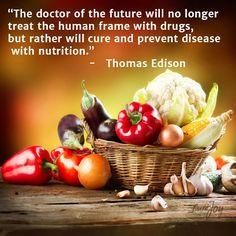 Doctor of the Future according to Thomas Edison... Do you agree ...
