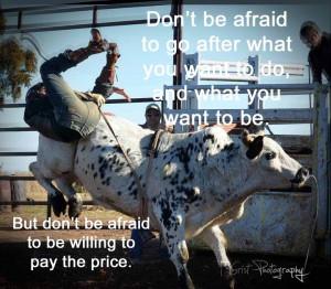 Bull Rider Quotes