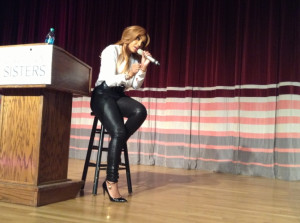 """On the """"Black Men Revealed"""" panel, Tamar Braxton served as an ..."""