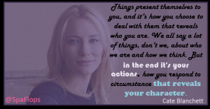 Cate Blanchett quotations