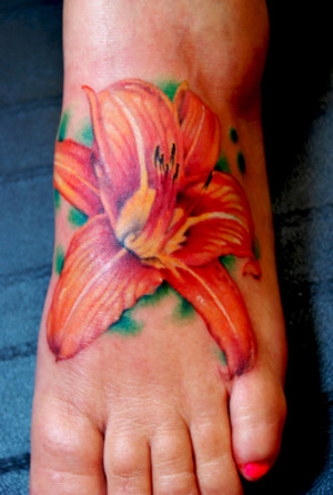 tiger lily tattoo pictures