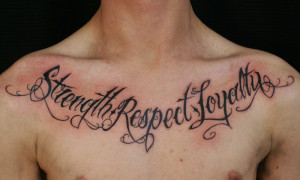 Tattoo Quotes About Life And Love: Tattoo Quote About Life Strength ...