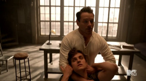 File:Teen Wolf Season 3 Episode 2 Ian Bohen Daniel Sharman Claws to ...