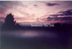 You know that I could use somebody) Someone like you