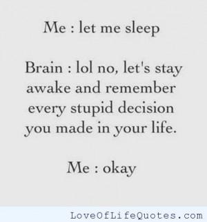 ... need sleep i tried everything to get to sleep except i want to sleep