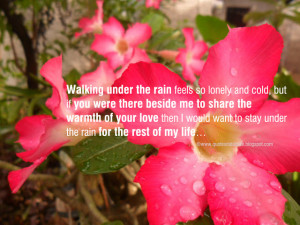 Walking in Love Quotes