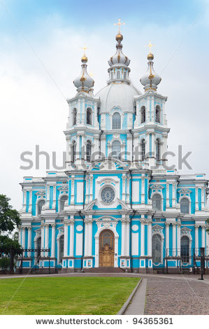 Petersburg Cathedral Lightning