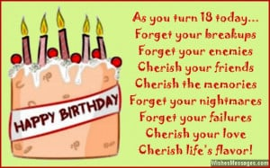 18th Birthday Wishes for Son or Daughter: Messages from parents to ...