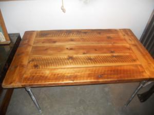 table Industrial farm table Vermont farm reclaimed wood 899 00
