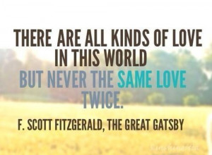 love, fitzgerald, movie quotes, books quotes, gatsby, great gatsby ...