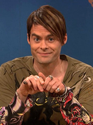 Bill Hader as Stefon on Saturday Night Live.