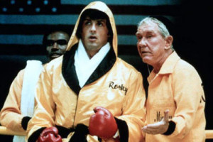 Trainer Mickey Goldmill in the Rocky films.