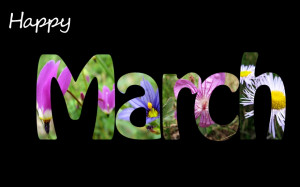 In this new month of March, I wish us: