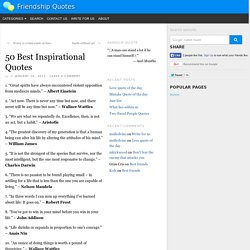 ... . The 30 Happiest Facts Of All Time. 50 Best Inspirational Quotes. 1