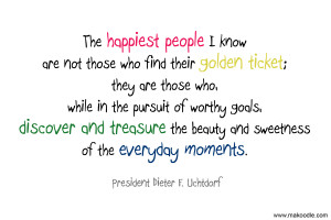 The Happiest People Quote – Free LDS Printable