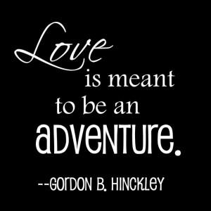 ... Marriage, Lds Quotes Marriage, Perfect Describing, Gordon B Hinckley