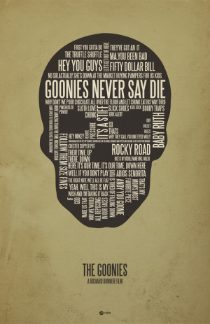 Geeky Movie Quote Poster Art