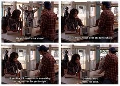 Kirk: My girlfriend's the whore! Lorelai: Great, now I'm not even the ...
