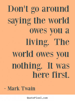 mark twain success quote art design your own quote picture here
