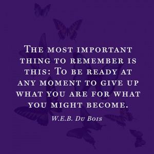 Du Bois Quotes