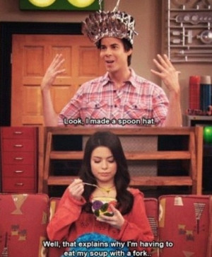 Movies Quotes, Icarly Spencer, Funnies Nickelodeon Quotes, Spoons Hats ...