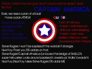 Captain America Quotes by Prinzesschen98