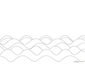boat waves ocean coloring pages