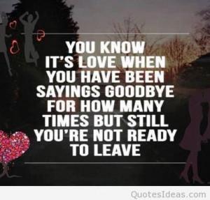 goodbye my love quotes