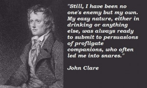 John clare famous quotes 2