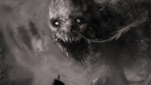 Creepy Monsters Wallpaper 1900x1080 Creepy, Monsters, Scary, Grayscale ...