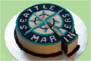 Seattle Mariners Birthday Cake