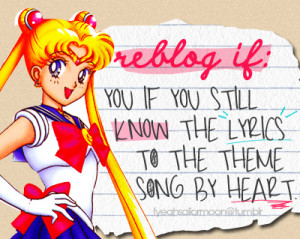anime, childhood, cute, music, quote, sailor moon - inspiring picture ...