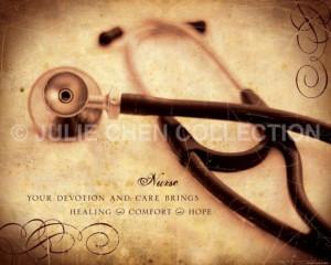 - Nurse Art - Nurse Quote - Nurse Retirement Gift - Nurse Thank You ...